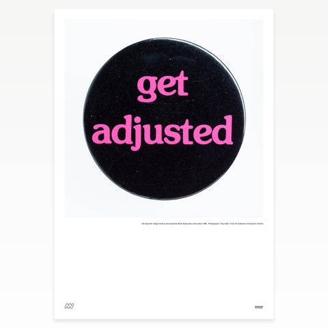 "Black badge ""get adjusted"""