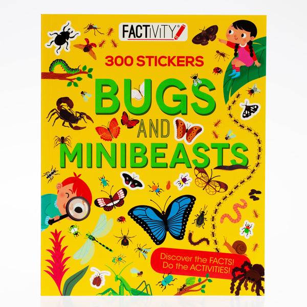 Bugs and Minibeasts Factivity Book
