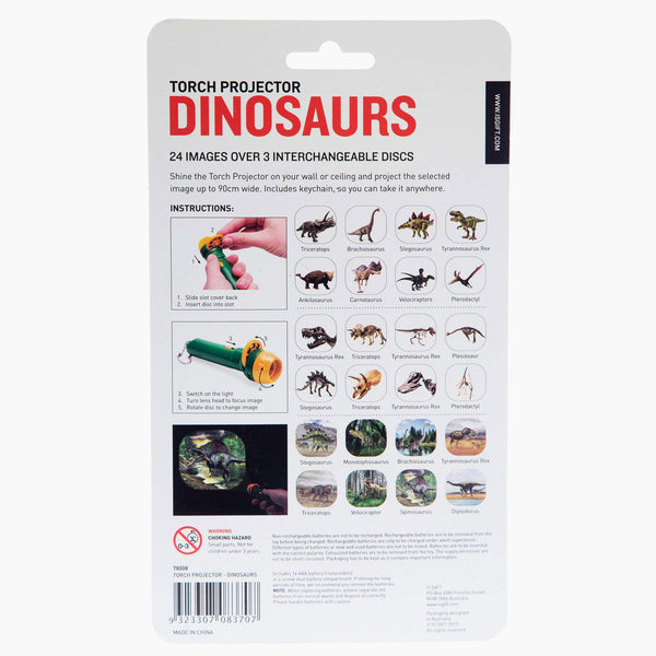 Dinosaur Torch Projector
