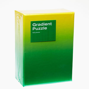 Gradient Puzzle: Green Yellow
