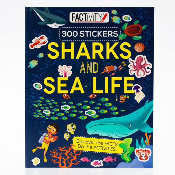 Sharks and Sea Life Factivity Book