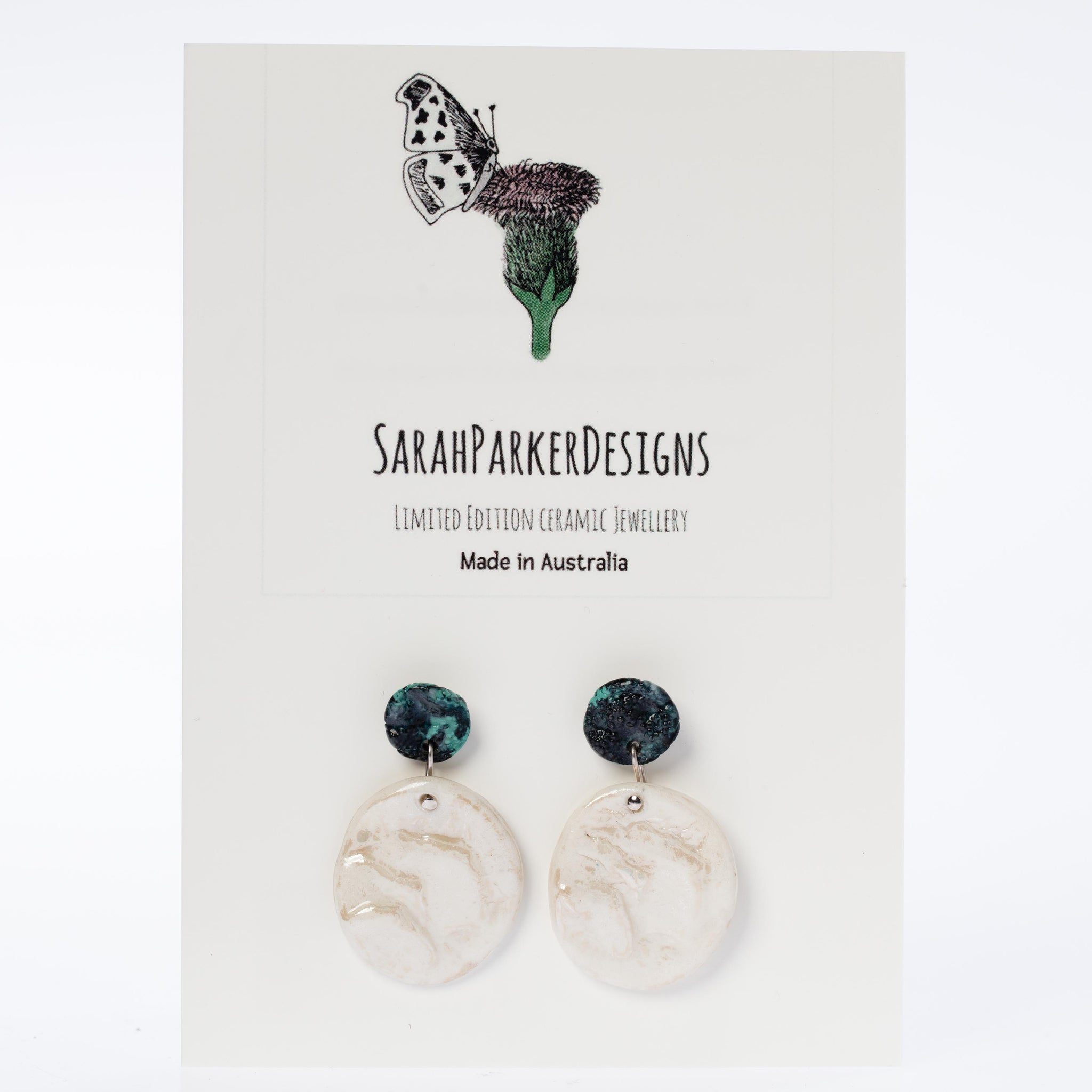 Sarah Parker Ceramic Earrings