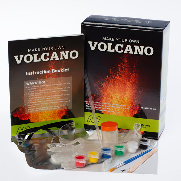 Museums Victoria Make Your Own Volcano Kit