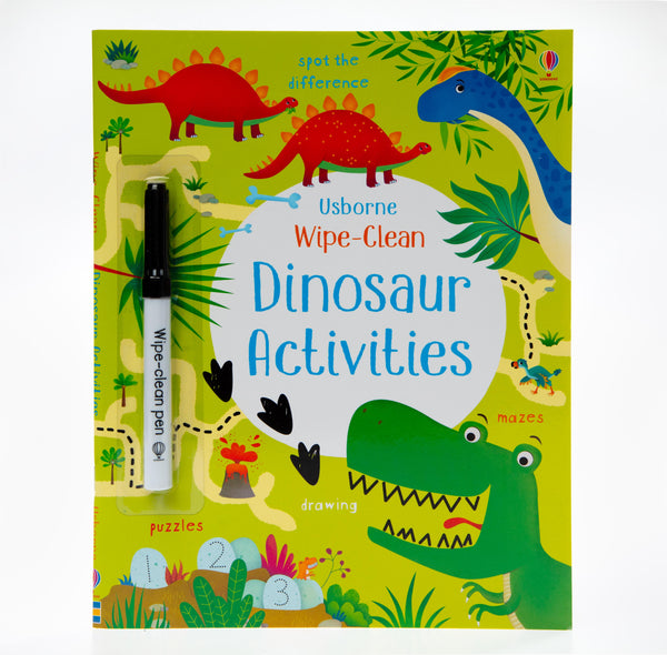 Wipe-Clean Dinosaur Activities Book