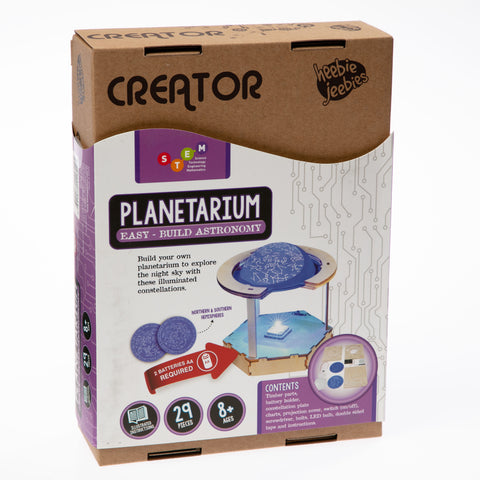 Easy-Build Planetarium