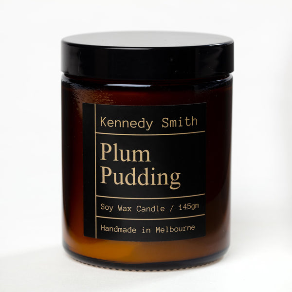 Plum Pudding Soy Candle