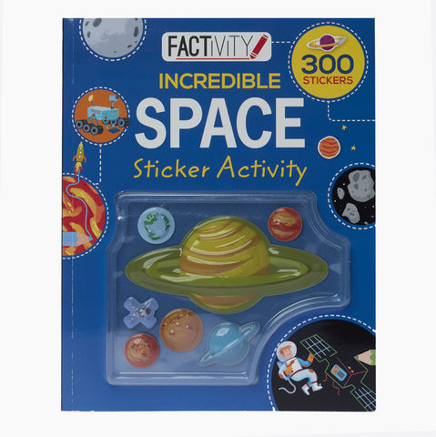 Incredible Space Sticker Activity Book