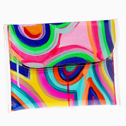 Psychedelia Large Clutch