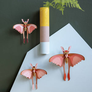 Comet Butterflies Wall Decoration - Set of Three