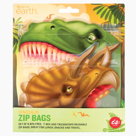 Reusable Dinosaur Lunch Bags