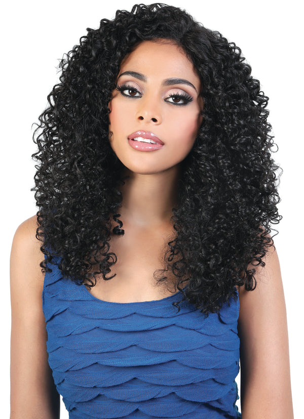 AQUA 10A WET & WAVY BOHEMIAN CURL CLOSURE