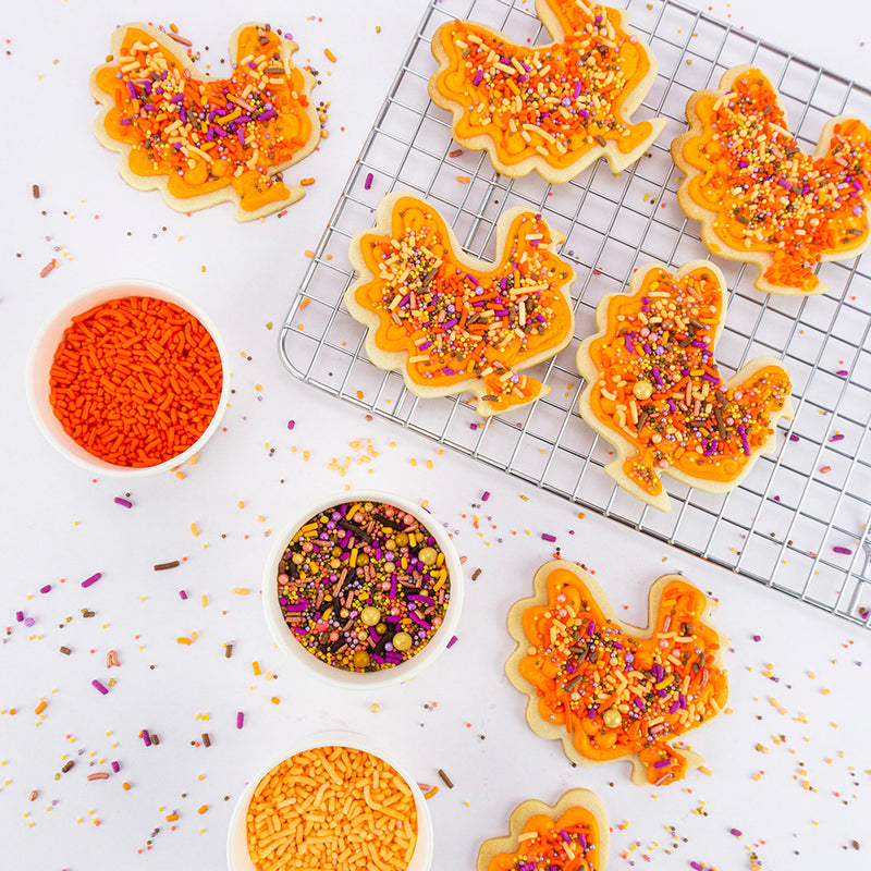 SPRINKLED TURKEY COOKIES