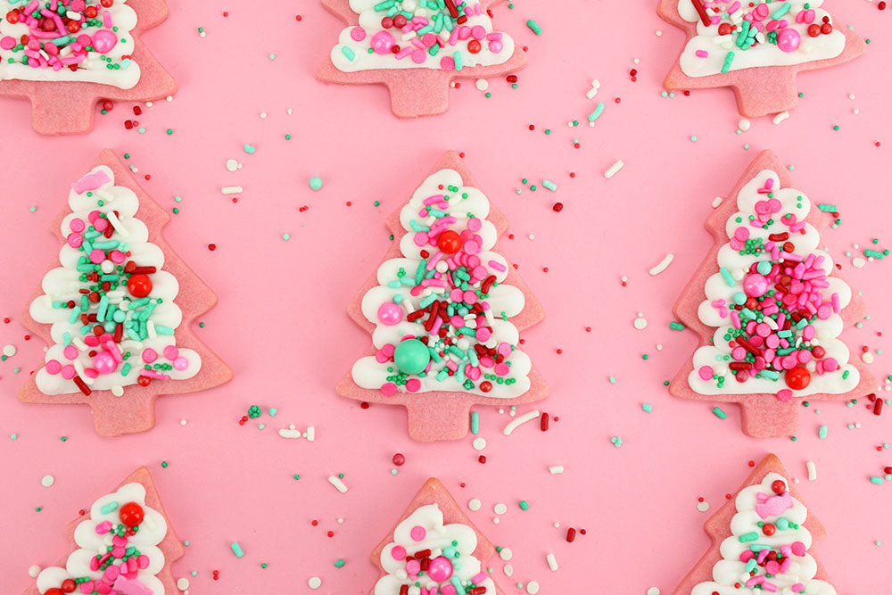 plate your cookies and enjoy the holidays with friend and family - Decorating Cookies With Sprinkles For Christmas