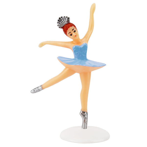 Large Blue Ballerina Cake Topper