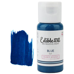 Blue Edible Paint