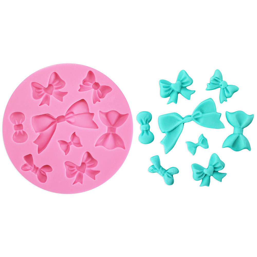 Bow Assortment Silicone Mold