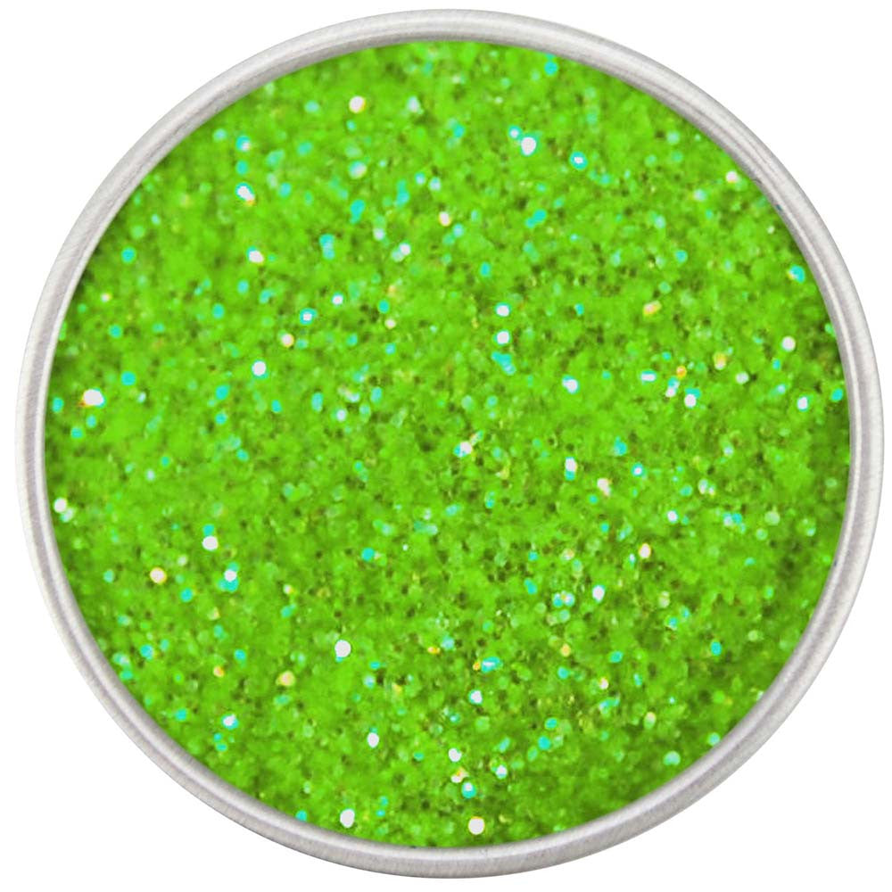 Bright Lime Green Disco Dust