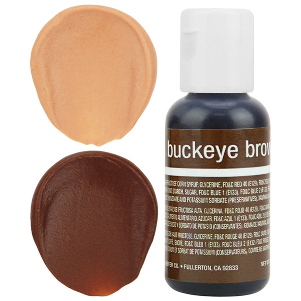 Buckeye Brown Chefmaster Gel Food Coloring