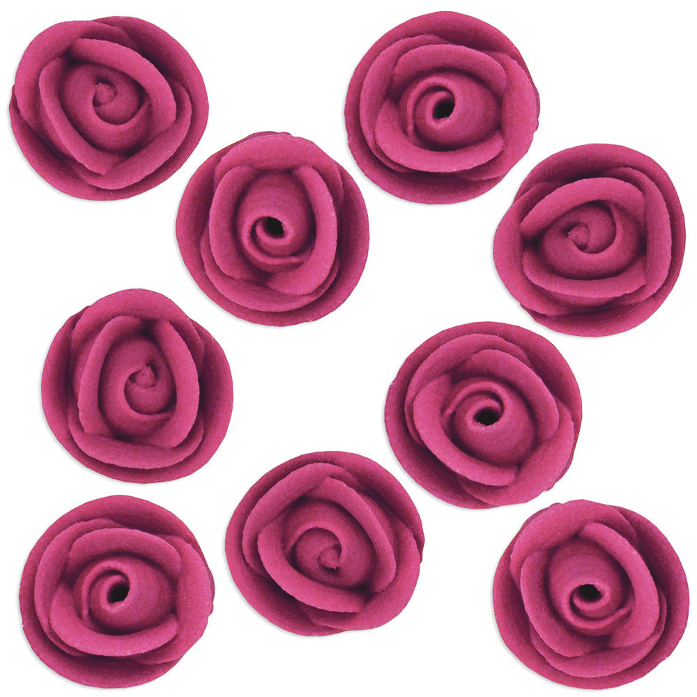 Burgundy Icing Roses