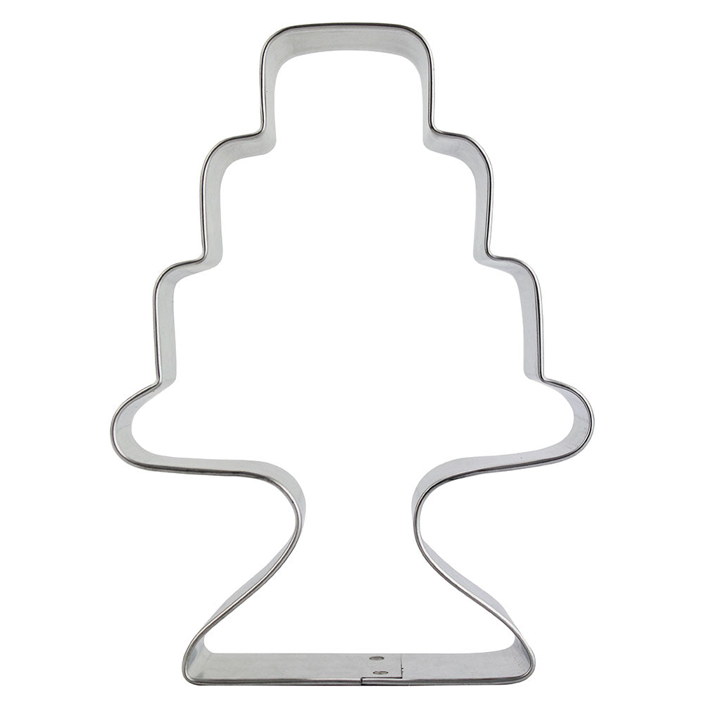 Wedding Cake & Stand Cookie Cutter