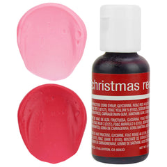 Christmas Red Chefmaster Gel Food Coloring