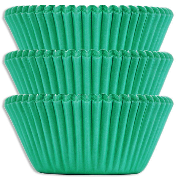 Electric Green Baking Cups