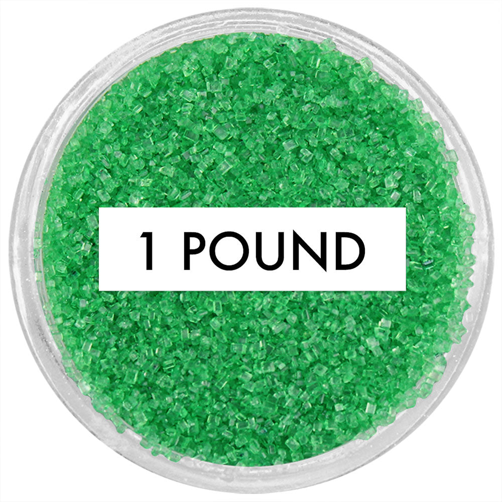 Emerald Green Sanding Sugar BULK