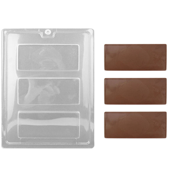 Flat Candy Bar Chocolate Mold