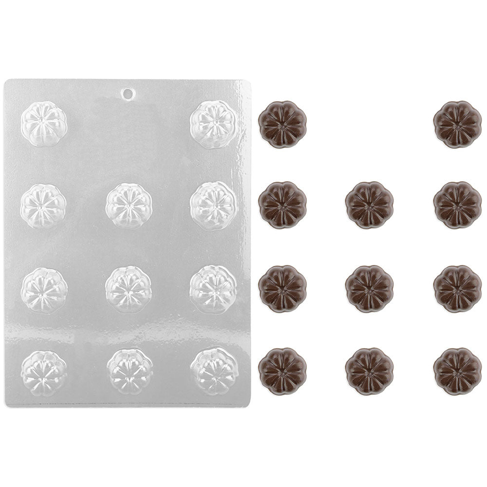 Fluted Round Chocolate Mold