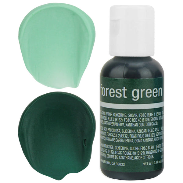 Forest Green Chefmaster Gel Food Coloring
