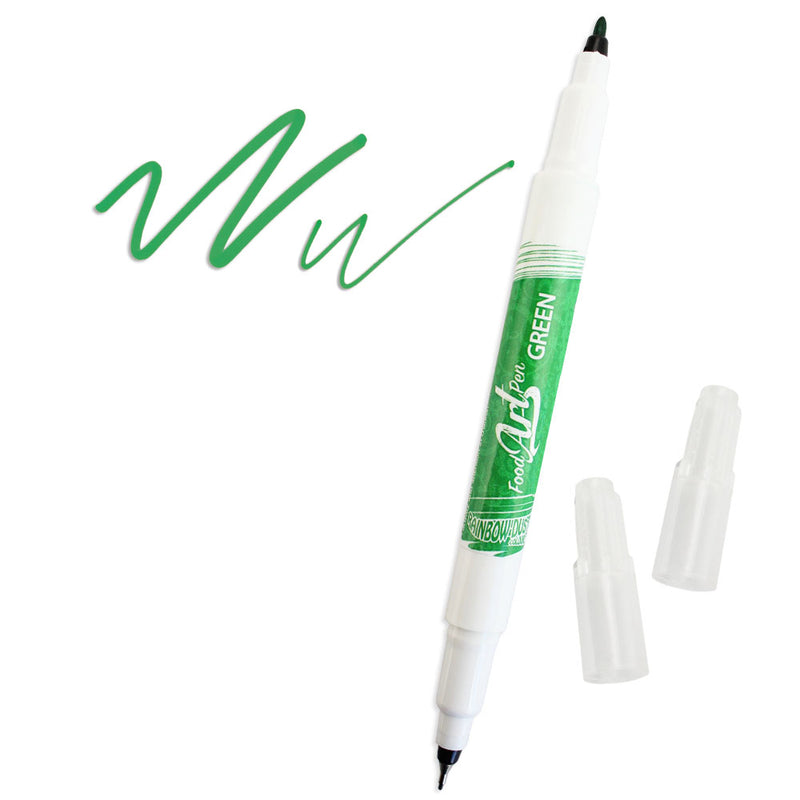Green Edible Ink Pen