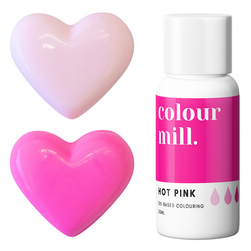 Hot Pink Colour Mill Oil Based Food Coloring