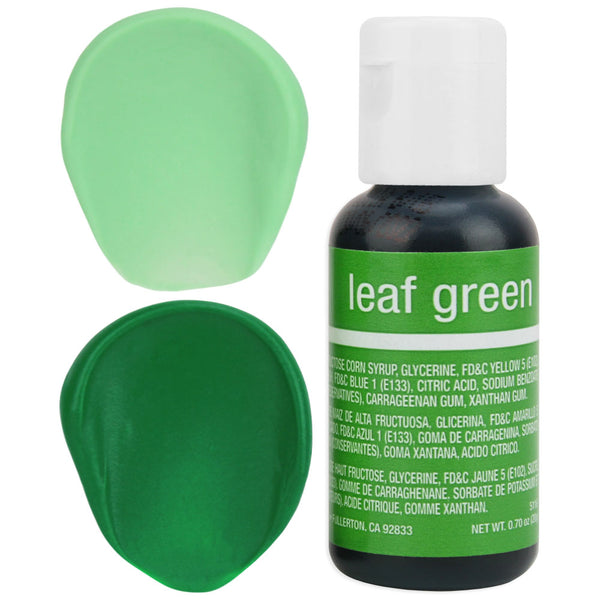 Leaf Green Chefmaster Gel Food Coloring