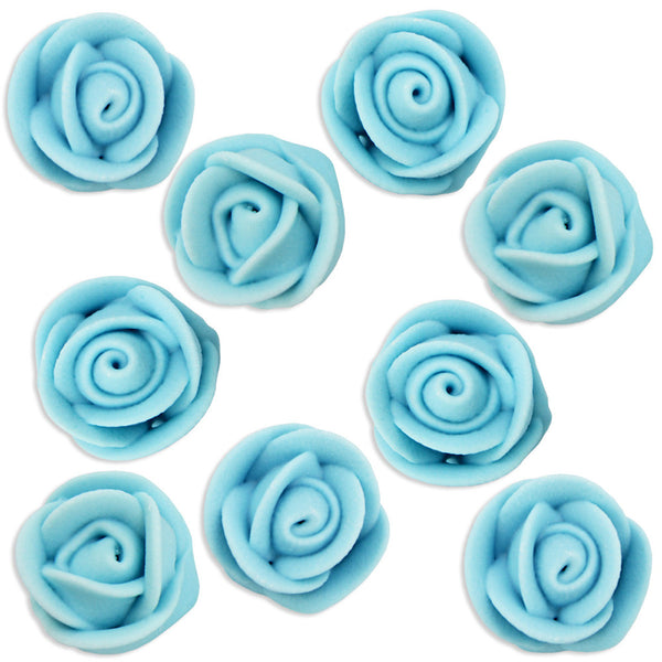 Light Blue Icing Roses