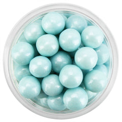Pearly Light Blue Sugar Pearls 7MM