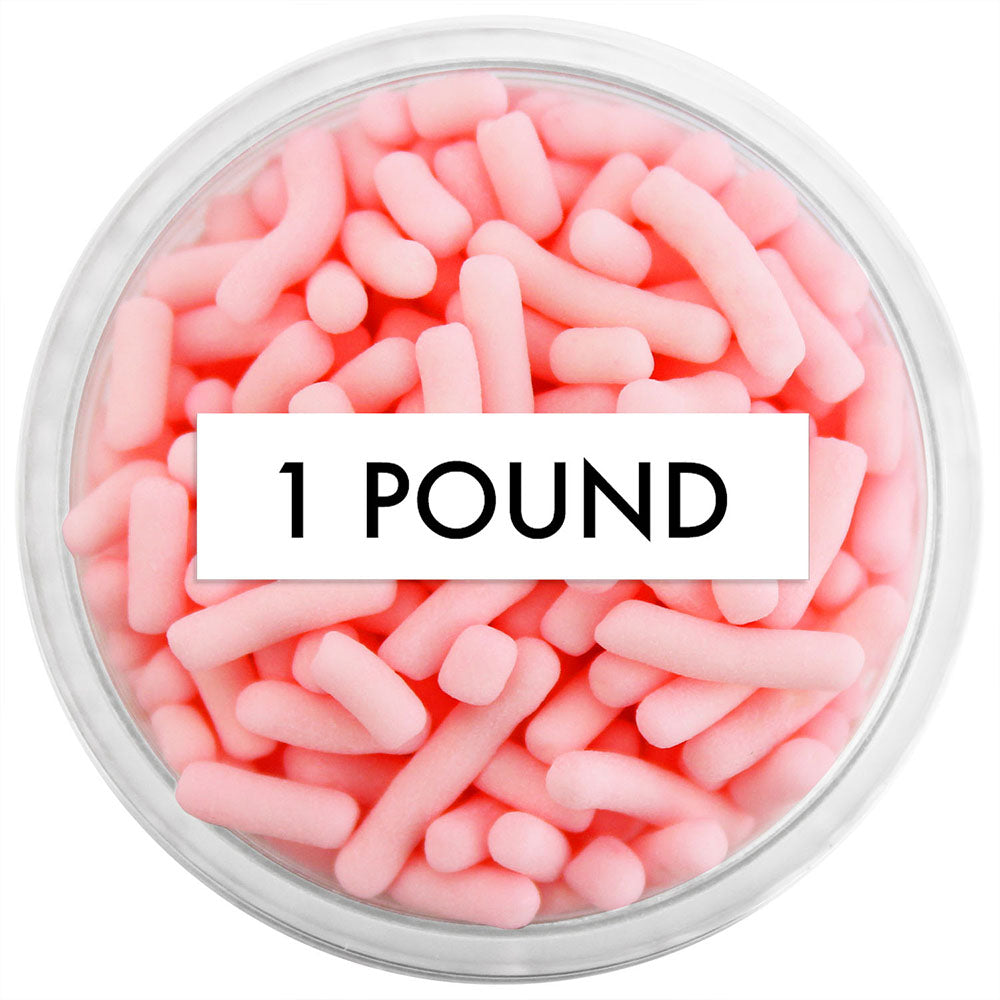 Light Coral Pink Jimmies 1 LB