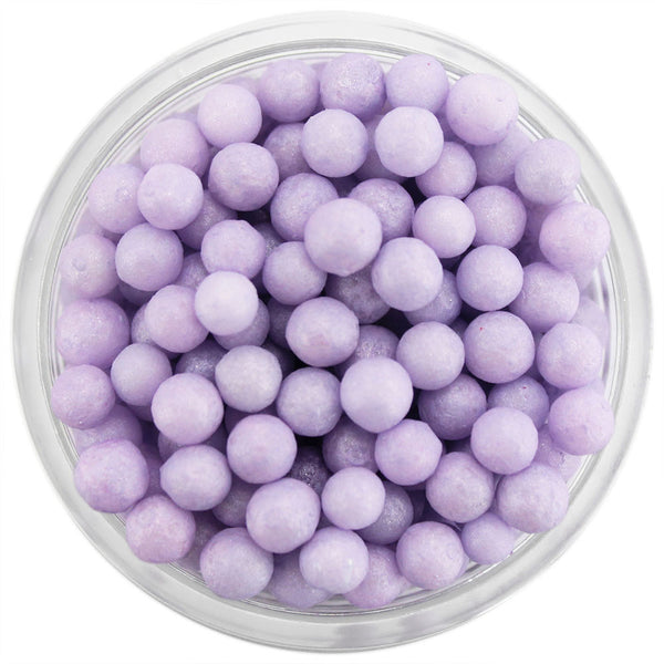 Pearly Light Purple Sugar Pearls