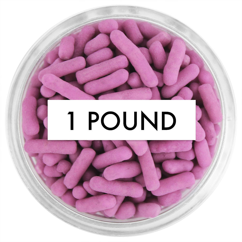 Mauve Jimmies 1 LB