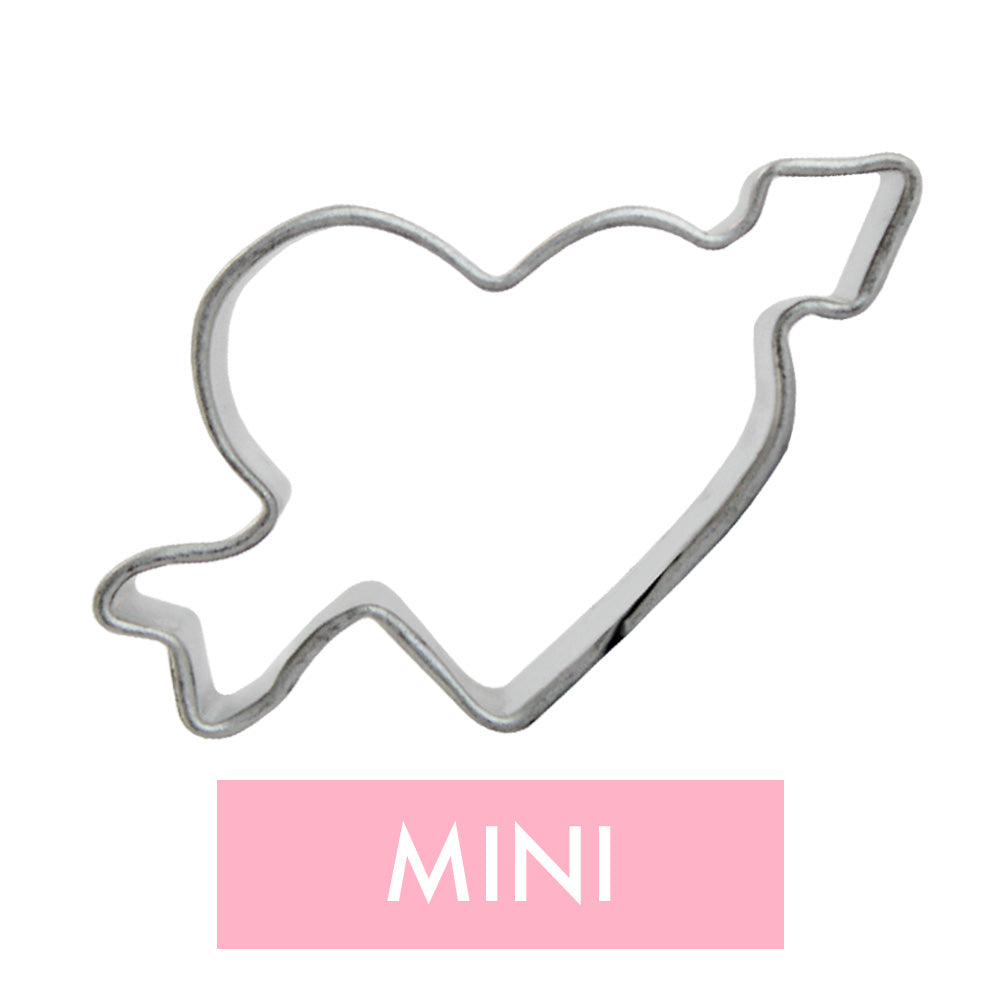 Mini Arrow Heart Cookie Cutter
