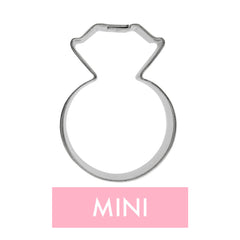 Mini Diamond Ring Cookie Cutter