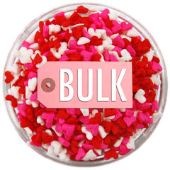 Mini Heart Sprinkles BULK