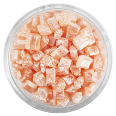 Mini Pearly Champagne Rose Gem Sugar