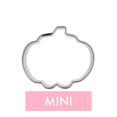 Mini Pumpkin Cookie Cutter