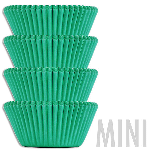 Mini Electric Green Baking Cups