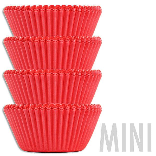 Mini Electric Red Baking Cups