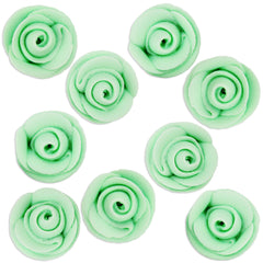 Mint Green Icing Roses