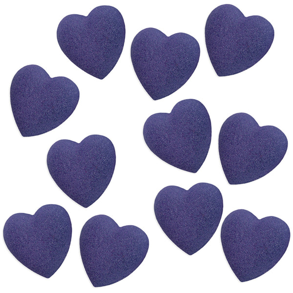 Navy Blue Heart Sugars