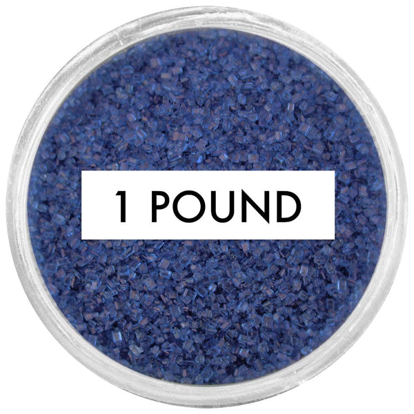 Navy Blue Sanding Sugar 1 LB