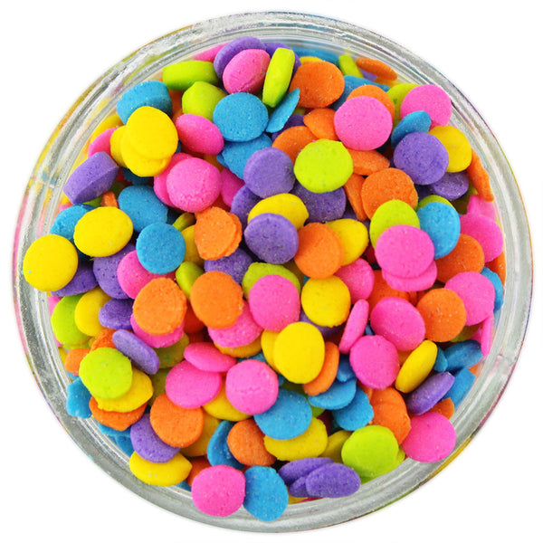 Bright Neon Sequin Sprinkles