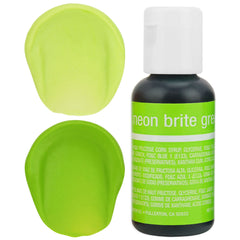 Neon Green Chefmaster Gel Food Coloring